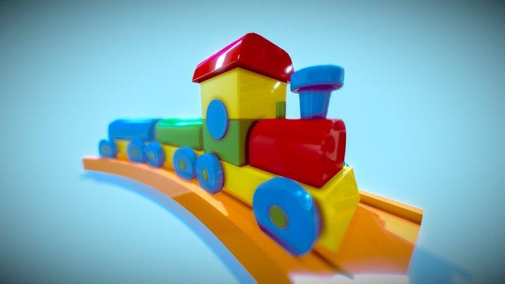 DAY07: TRAIN SET 3D Model