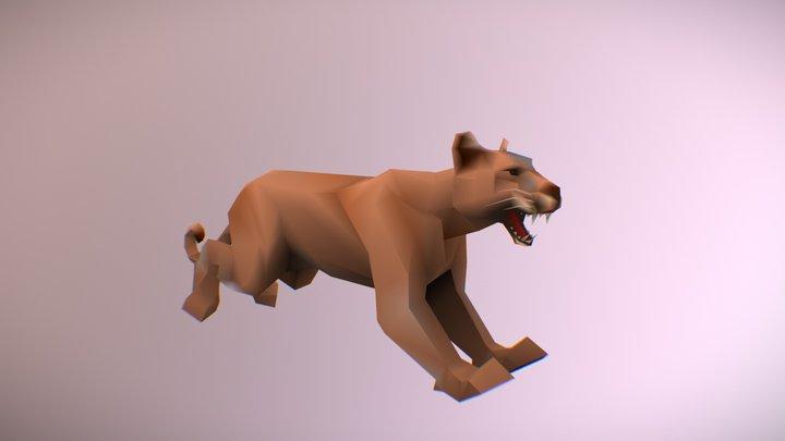 Puma Sprint Animation 3D Model