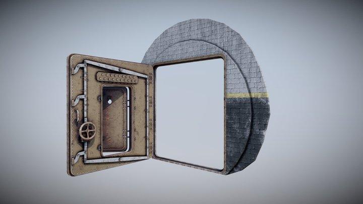 Bunker door 3D Model