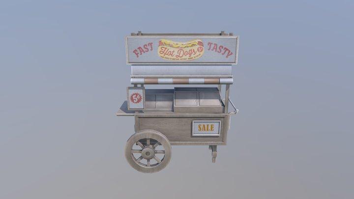 LP-hotdog 3D Model
