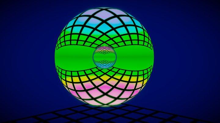 projection 2 3D Model