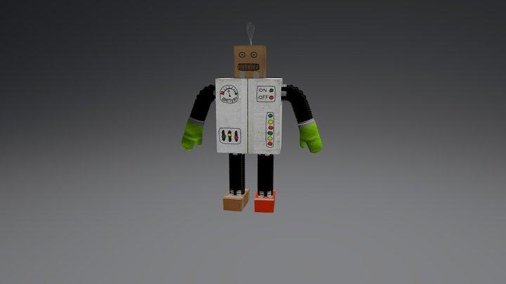 Homemade Robot 3D Model