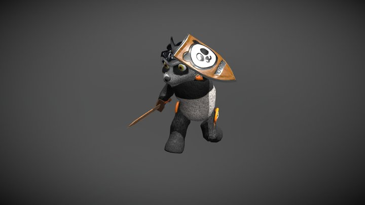 URRIE_ From The KNight Guardian 3D Model