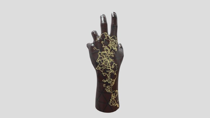 Hand Model / Material Study 3D Model