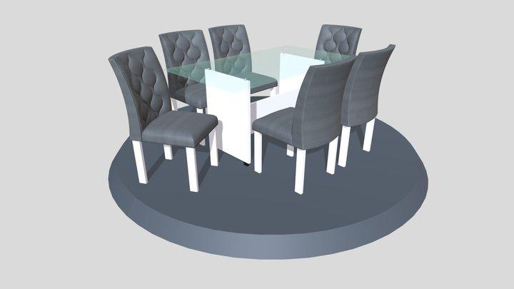 Mesa Cidadella 6C 1600x900 3D Model