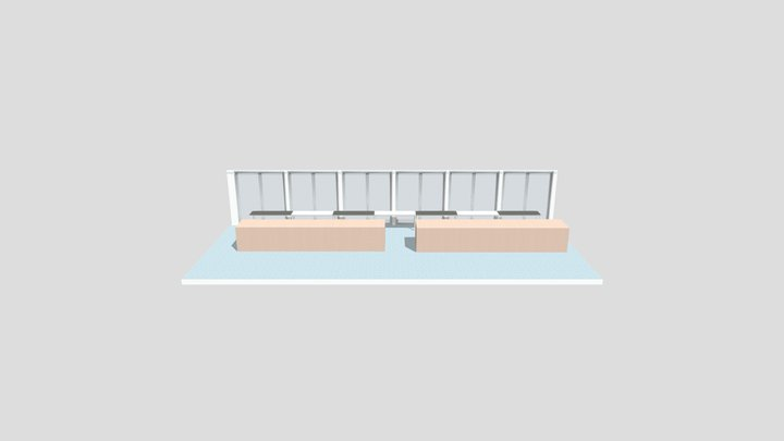 TTS Senior Library - Seating Area A 3D Model