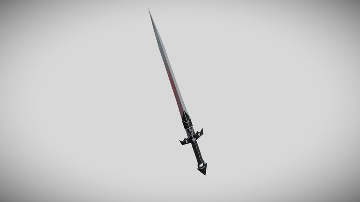 King's Prophecy (Sword) 3D Model