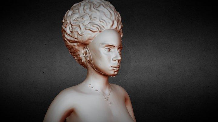 Bride Of Frankenstein 3D Model