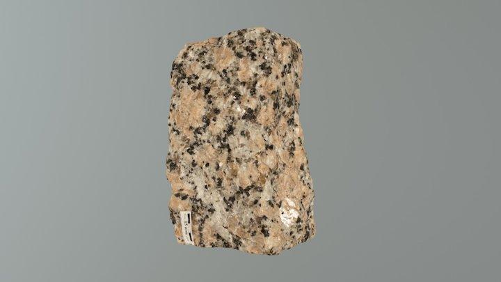 Igneous Rock Sample 01 3D Model