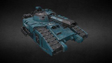 Glaive Tank 3D Model