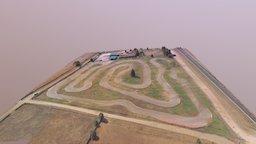 Circuito Karting 3D Model