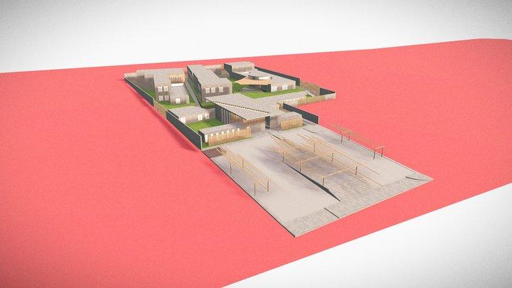 Rê: Space for the Elderly 3D Model