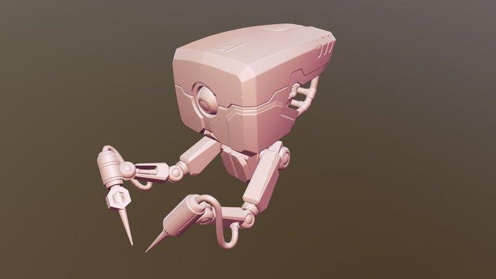 Droid texturing 1 3D Model