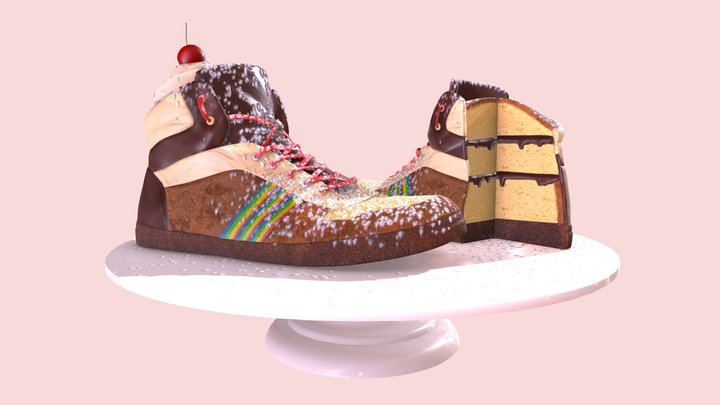 Sketchfab Texturing Challenge: Shoes 3D Model