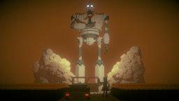 The Iron Giant 3D Model