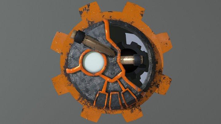 Laborangear Gate 3D Model