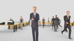 Business Men 3D Model