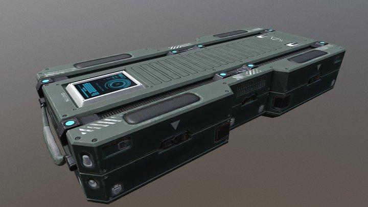 Sci fi Create 3D Model