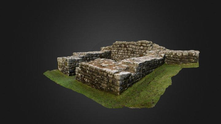 Roman | Birdoswald western tower of South Gate 3D Model