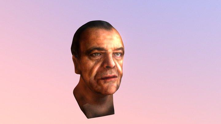 Jack Nicholson Study 3D Model