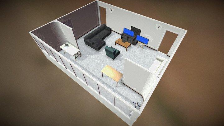 Apartment 502 - WIP 0.2 3D Model