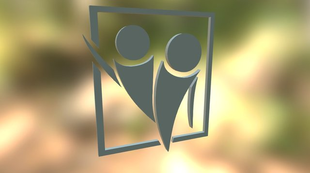 Fuman Corp Logo 3D Model