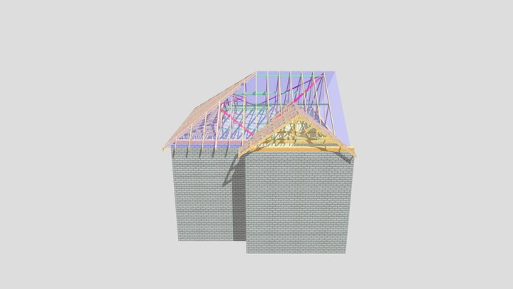 P12921 Plot 25&26 Manston Road 3D Model