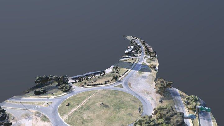 Acceso a Ciudad Universitaria - Santa Fe 3D Model