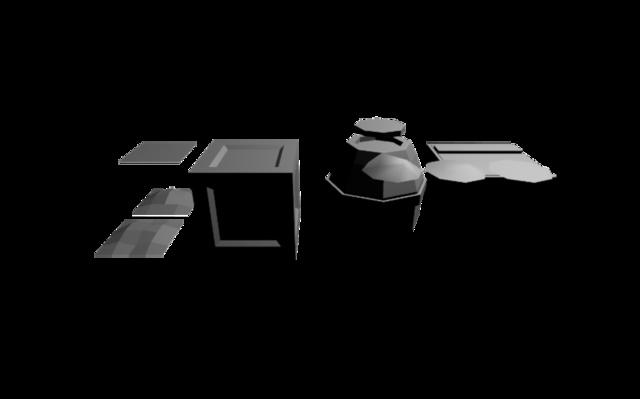 Game jam tests 3D Model