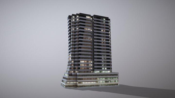 Building Erevan Avnik 3D Model