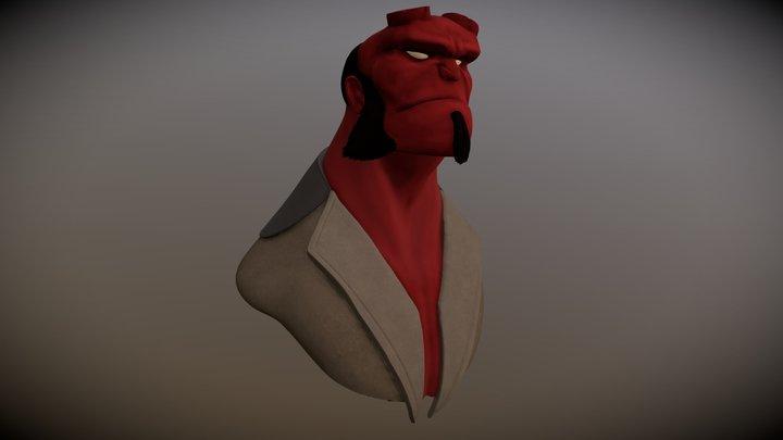 Hellboy - Concept Art 3D Model