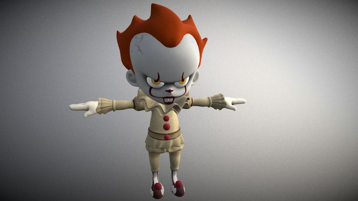 Pennywise 3D Model