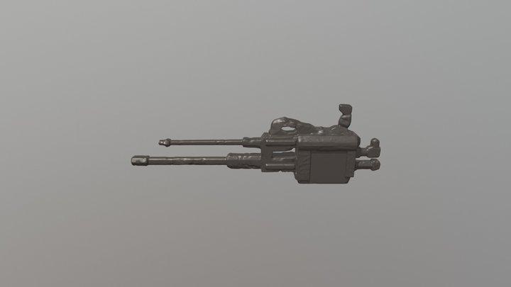 Heavy Scrap Gun 3D Model