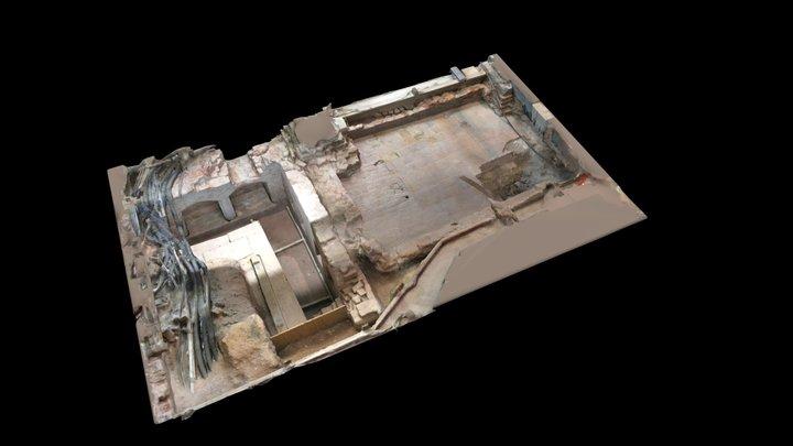 Tudor Floor (optimised for VR + AR) 3D Model