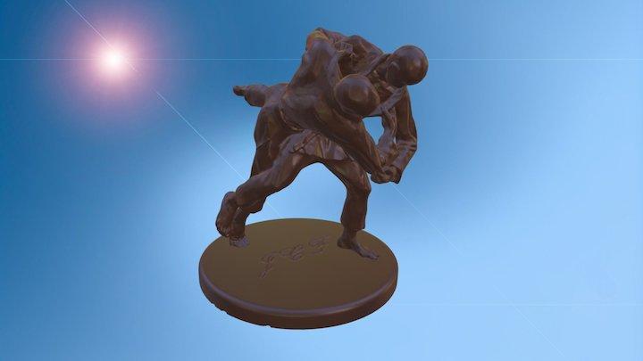 Judo Club Fornaci 3D Model