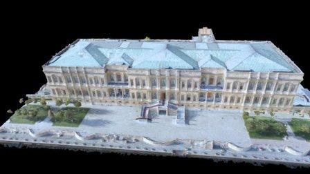 Beşiktaş Çırağan Sarayı 3D modeli 3D Model