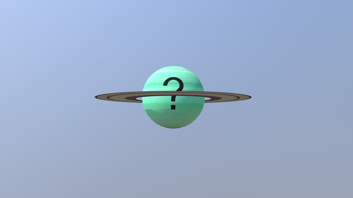 The Planet of confusion 3D Model
