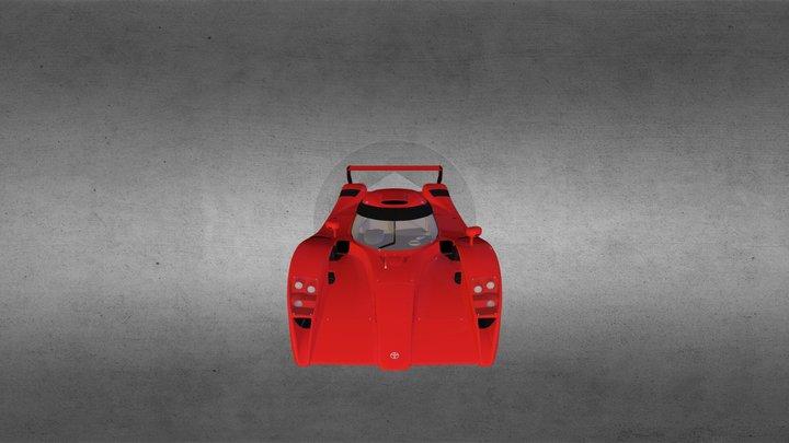 Toyota GT-One 3D Model