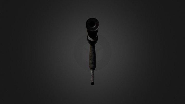 Finally Textured MP5 3D Model