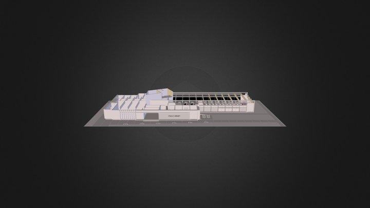 Public Library Sample v2013.dae 3D Model