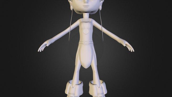 fey_obj.obj 3D Model