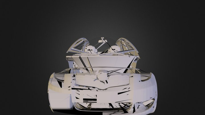 Yaris.3ds 3D Model