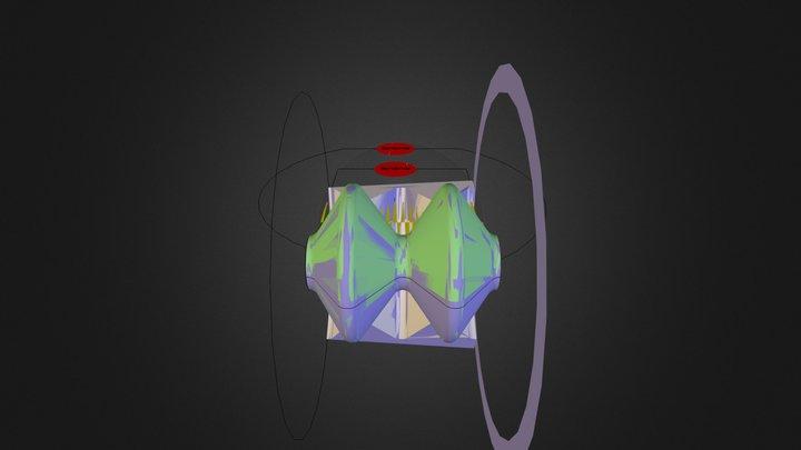 Espace temps.dae 3D Model