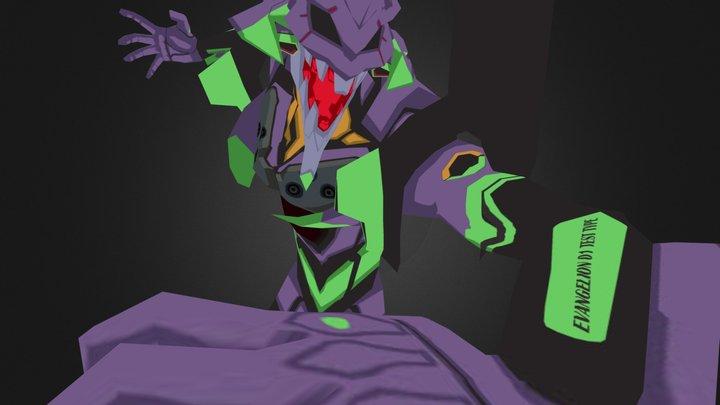 EVA01_Pose02a 3D Model