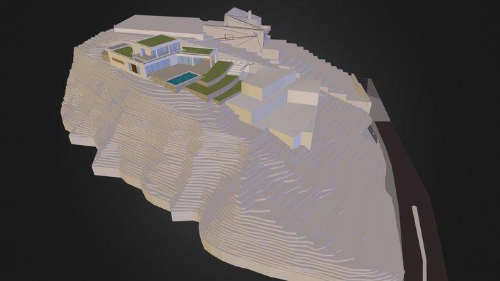Villa B Laurent 3D Model