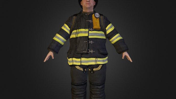 Fireman.zip 3D Model