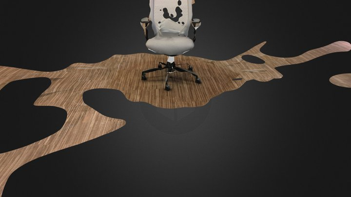 CSR Gray Chair 3D Model