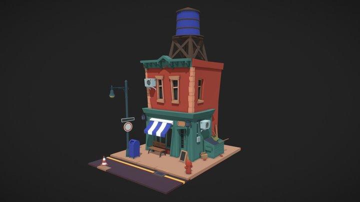 House | Detailed Draft 2 3D Model
