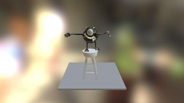 Mike Wazowski 3D Model