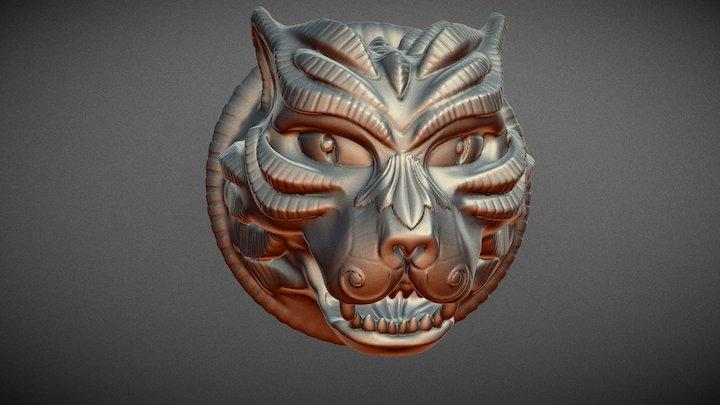 Gato final print stl 3D Model